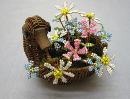 Изготовление цветка Полевой