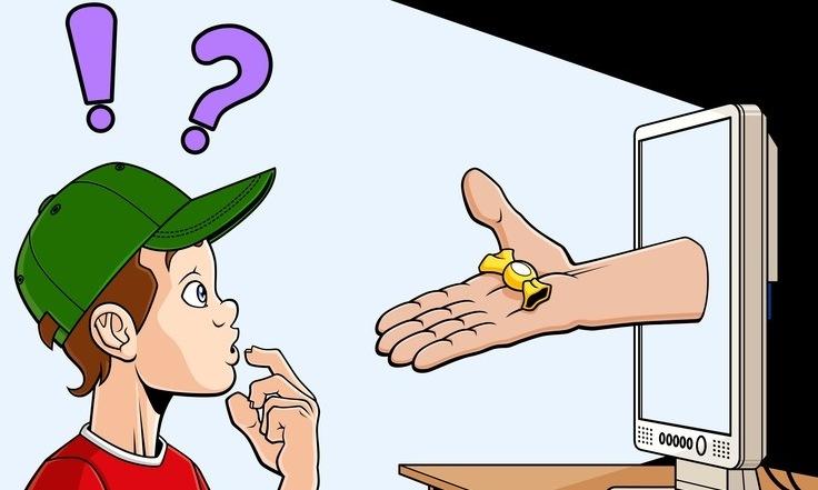 Рисунок дети в интернете